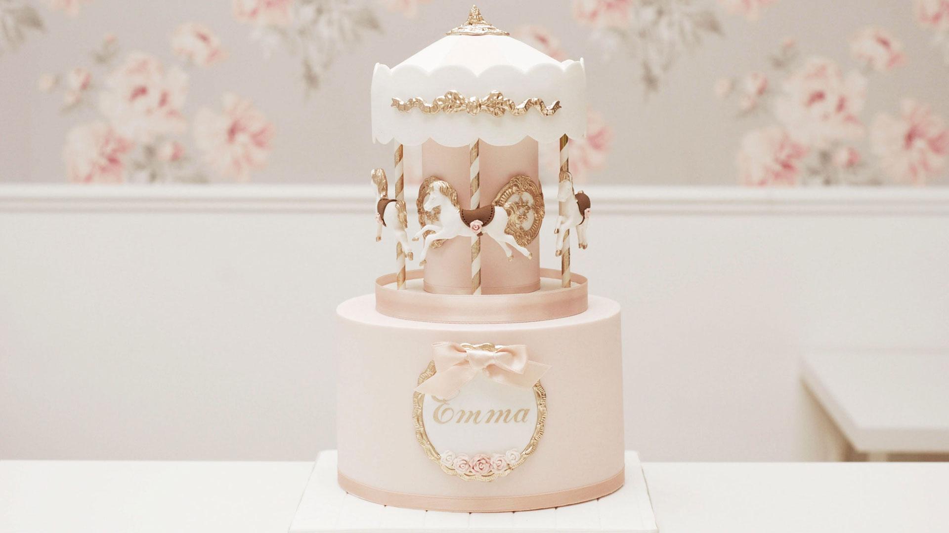 Merry-go-round cake course
